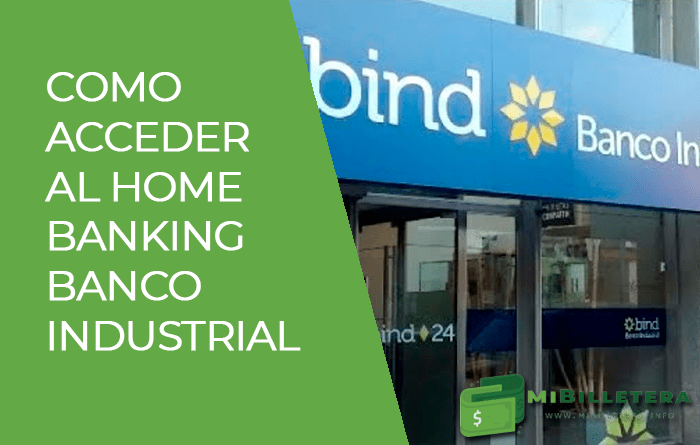 Banco Industrial home banking